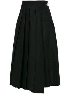 плиссированная юбка миди  A.W.A.K.E. Awake