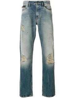 джинсы прямого кроя Calvin Klein