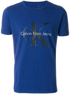 футболка с принтом-логотипом Calvin Klein