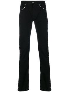 джинсы кроя слим Versace