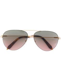 солнцезащитные очки-авиаторы Classic Victoria Feather Victoria Beckham