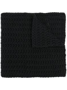 трикотажный шарф крупной вязки Moncler