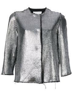блестящая куртка-бомбер  Gianluca Capannolo