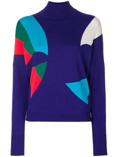 трикотажный свитер Delpozo