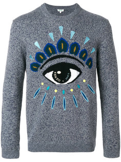 свитер с изображением глаза Kenzo