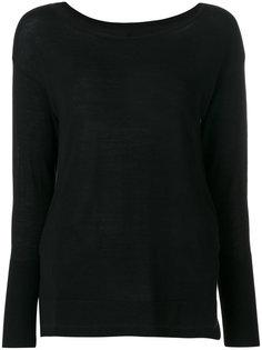 свитер с вырезом лодочкой  Sottomettimi