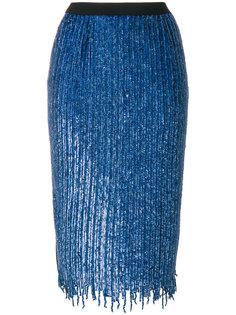 юбка-карандаш с отделкой  Aviù
