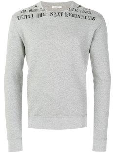 свитер с графическим принтом  Valentino