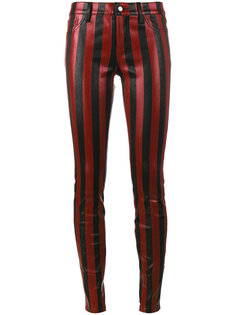 striped skinny trousers  Beau Souci