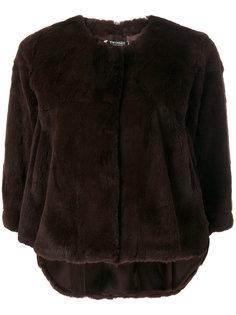 укороченная куртка из кроличьего меха Twin-Set