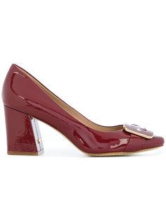 лакированные туфли с пряжкой Tory Burch