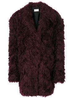 фактурное пальто  Maison Margiela