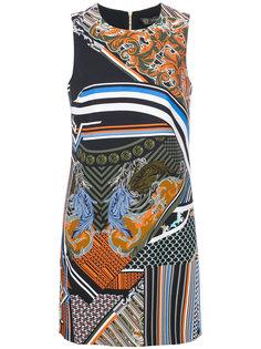 платье с принтом Barocco Versace