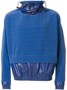 layered sweater anorak Cottweiler