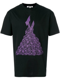 футболка с принтом Bunny McQ Alexander McQueen