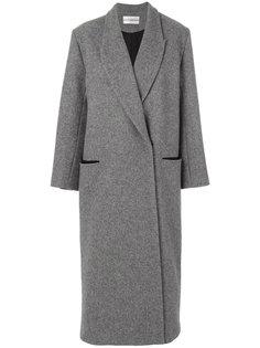 длинное двубортное пальто  Walk Of Shame