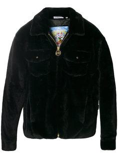 меховая куртка на молнии Gcds