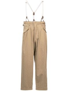 брюки с подтяжками Ys Y`s