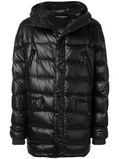 пальто-пуховик с капюшоном Dolce & Gabbana