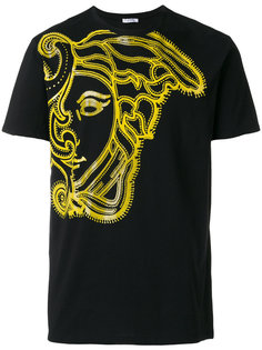 футболка с принтом Medusa Versace Collection