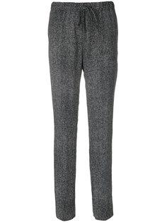 зауженные брюки со шнурком  Jil Sander
