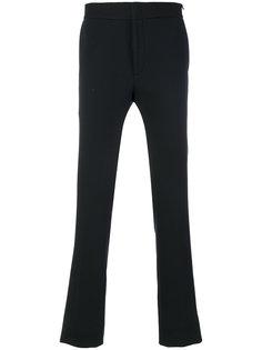 брюки с контрастным поясом Fendi