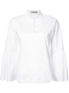 ruffle detail shirt D.Exterior