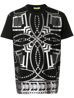 футболка с абстрактным принтом Versace Jeans