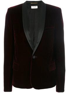 однобортный пиджак Le Smoking Saint Laurent