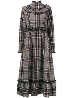 платье с оборкой Charron Ganni