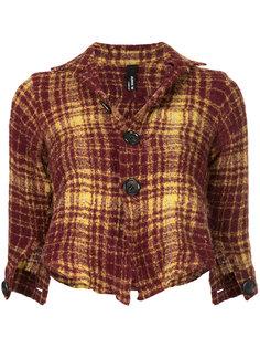 tartan jackete Junya Watanabe Comme Des Garçons Vintage