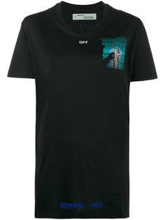футболка с принтом Nothing New Off-White
