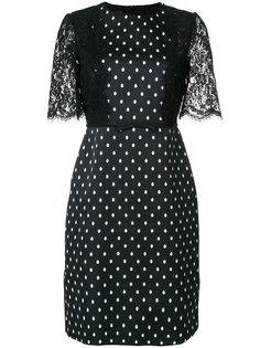 платье-шифт в горошек Giambattista Valli