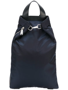 рюкзак с металлическим ремешком Jil Sander