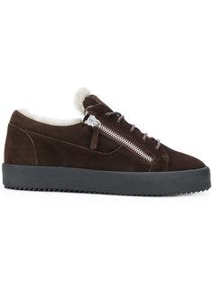 кроссовки на молнии Giuseppe Zanotti Design