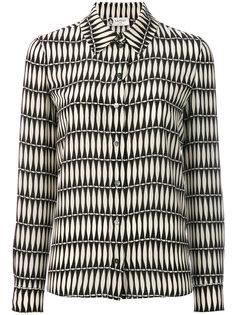 рубашка с узором Lanvin