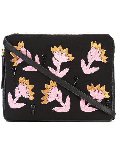 Electric Daisy clutch Lizzie Fortunato Jewels
