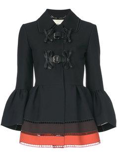 куртка с баской  Fendi