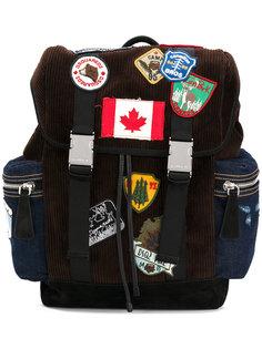 рюкзак с заплатками Dsquared2