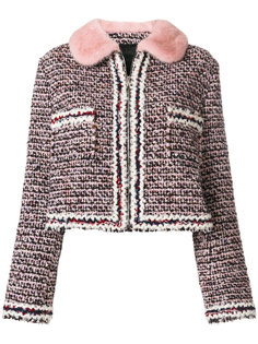 cropped tweed jacket Moncler Gamme Rouge