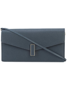 flap closure clutch bag Valextra