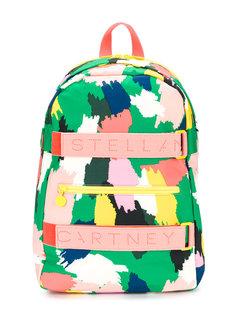 рюкзак с принтом в виде мазков краски Stella Mccartney Kids