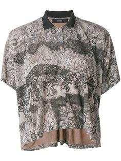 блузка с узором  Diesel
