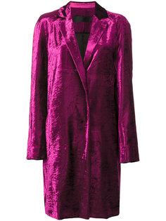 бархатное пальто  Haider Ackermann