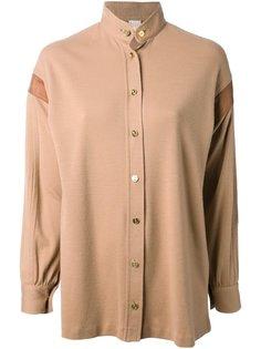 рубашка с воротником-стоечкой Roberta  Di Camerino Vintage