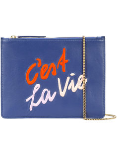 Cest La Vie clutch Lizzie Fortunato Jewels