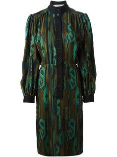 платье с принтом Jean Louis Scherrer Vintage