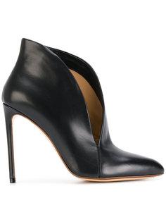 туфли с асимметричным дизайном Francesco Russo