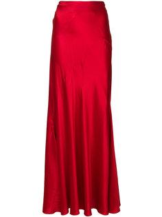 длинная свободная юбка  Alberta Ferretti