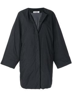 пальто на молнии  Jil Sander